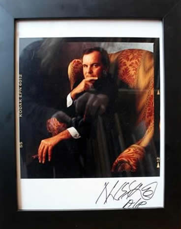 "Marc Hauser - Richard M. Daley ""Da Mayor"" Color Fiber Print"