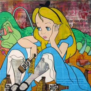 Donald Topp Tattoo Hipster Girls Alice in Wonderland