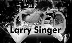 larry singer button