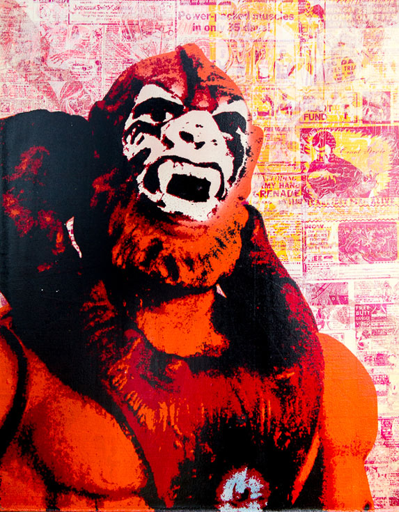 Beast Man Donald Topp icon print