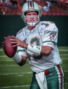 Dan Marino Larry Singer Sports Celebrity Photographs