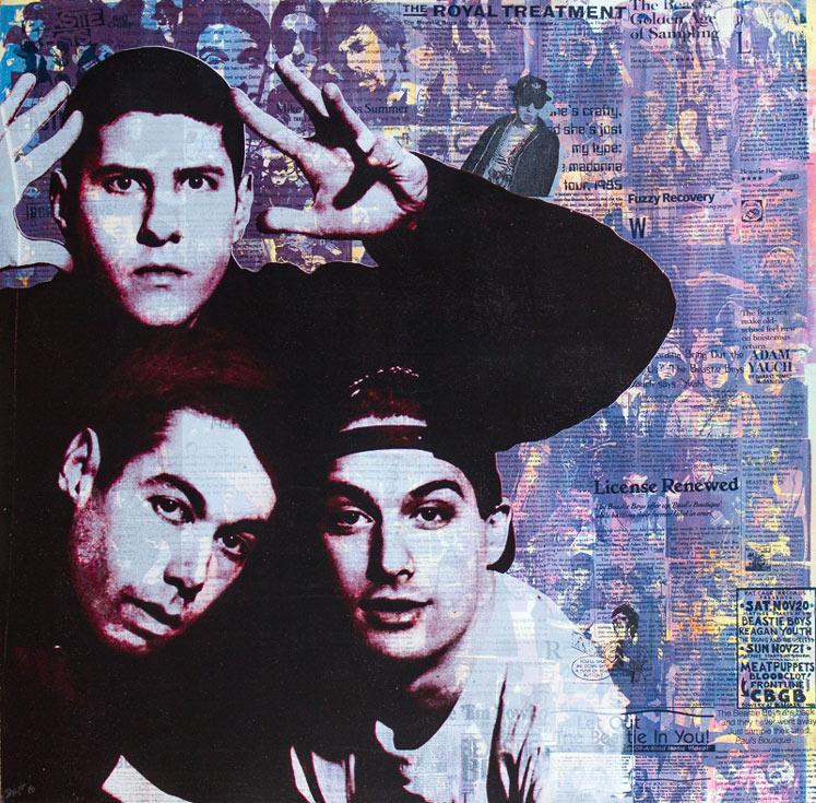 Beastie Boys Donald Topp icon print