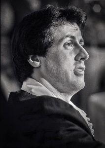 Sylvester Stallone Larry Singer Celebrity Photograph