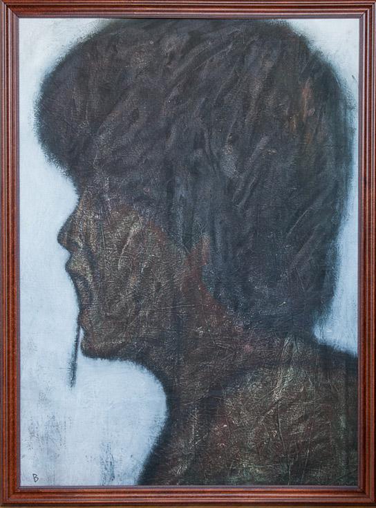 Untitled Portrait by Bruce Bitmead