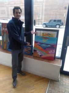 Happy Art Buyer of an Aly Jados