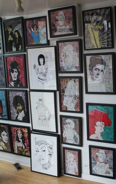 Donald Topp Wall pop art dlg david leonardis gallery